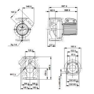 UPS 65-180F-340(3х400)