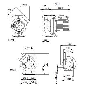 UPS 50-180F-280(3х400)