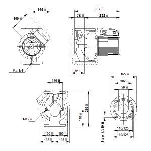 UPS 50-120F-280(3х400)
