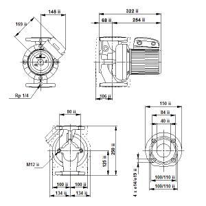 UPS 40-180F-250(3х400)
