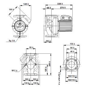 UPS 40-180F-250(1х230)