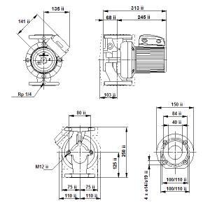 UPS 40-120F-250(3х400)
