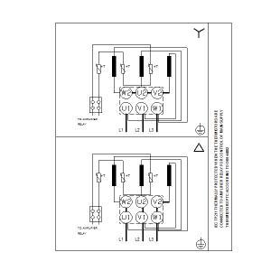 Схема подключения UPS 40-120F-250(1х230)