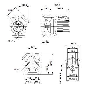 UPS 32-120F-220(3х400)